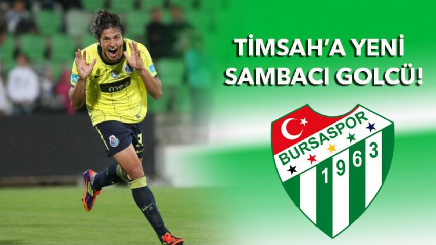 Timsah'a yeni Sambacı golcü!