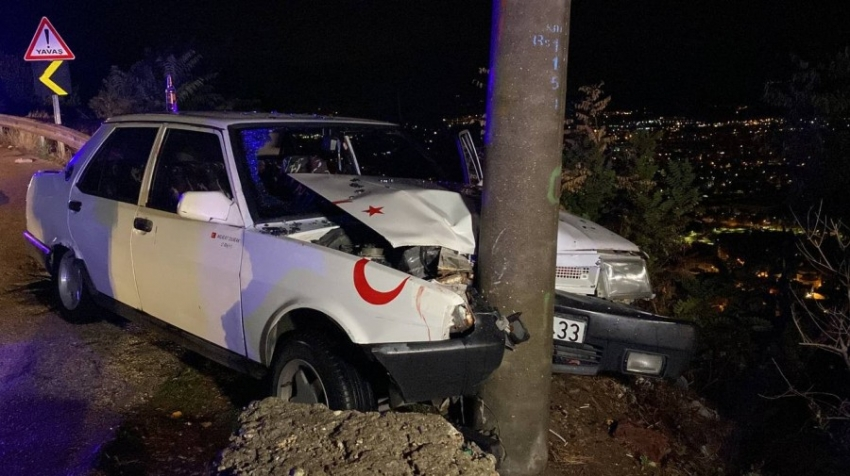 Bursa dağ yolunda trafik kazası: 2 yaralı