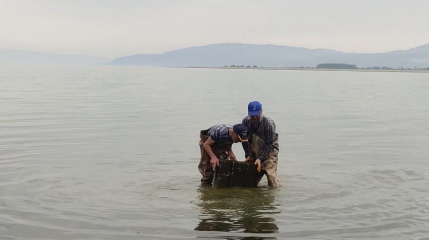 İznik Gölü, Bursa tarihine sürpriz yapmaya devam ediyor