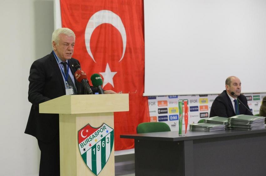 Bursaspor'da olaylı divan!