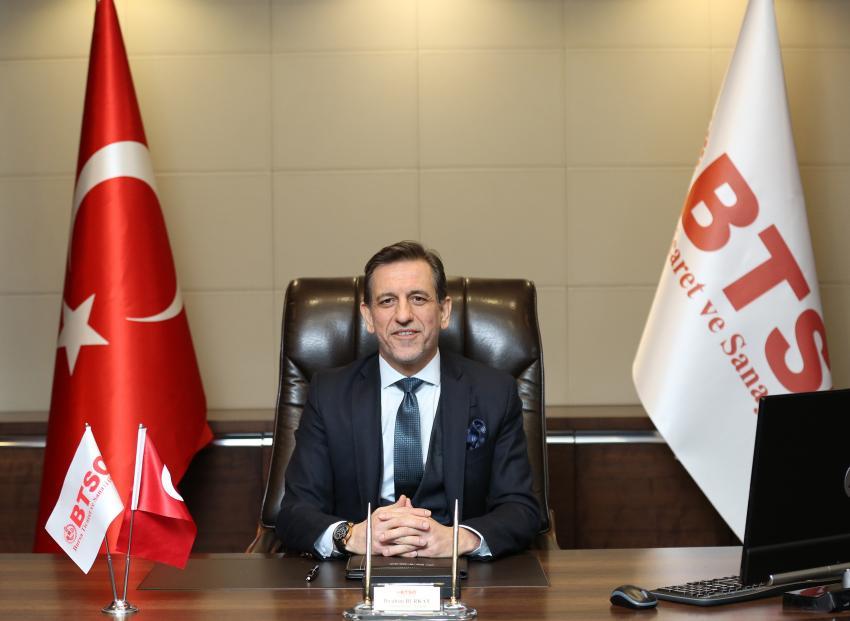 İbrahim Burkay'dan İSO 500 açıklaması
