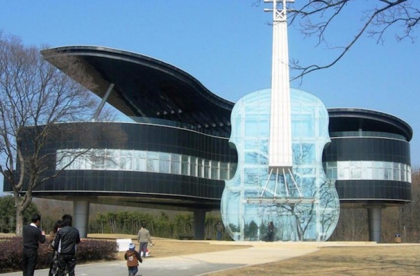 En ilginç tasarımlı evler!