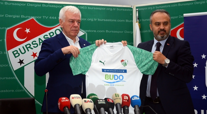 İşte Bursaspor'un forma göğüs sponsoru!
