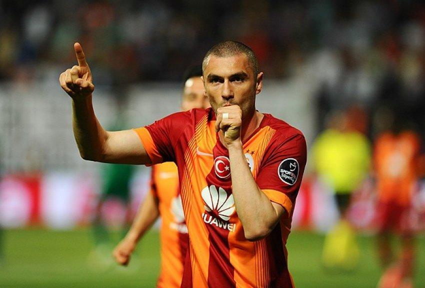 Galatasaray Burak ile uçtu