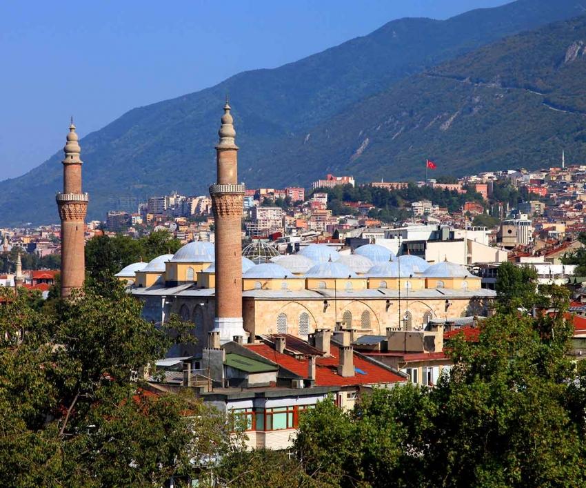 Bursa'nın değerleri komşuda tanıtıldı
