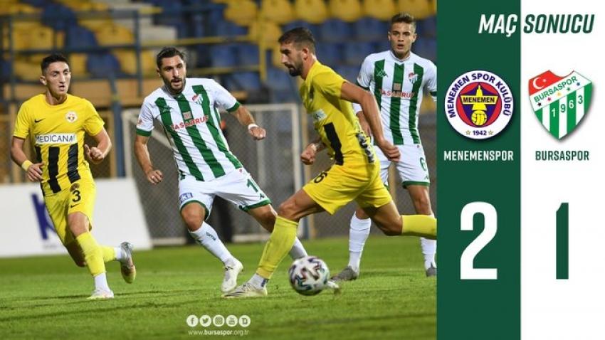 Menemenspor 2-1 Bursaspor