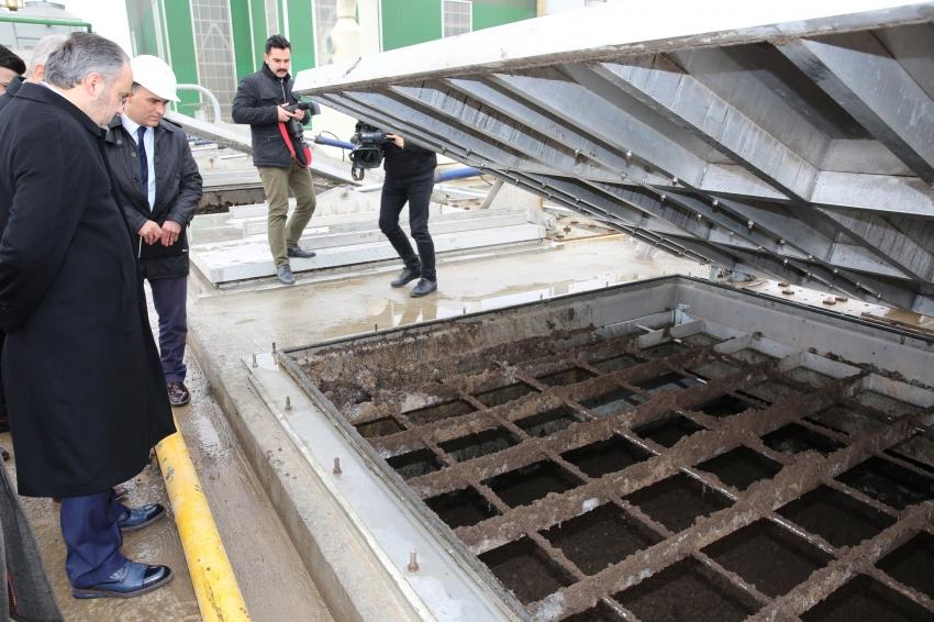 Bursa'nın çamuru elektriğe dönüşüyor