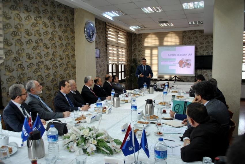 Müftülere iletişim semineri