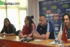 Bursa Büyükşehir Belediyespor & Olympiacos - Basın Toplantısı