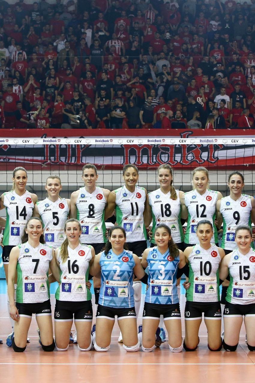 Olympiacos 3-2 Bursa Büyükşehir Belediyespor