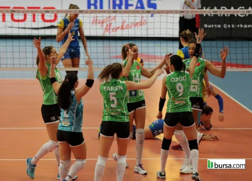 Bursa Büyükşehir Belediyespor 3-2 SSC Palmberg Schwerin