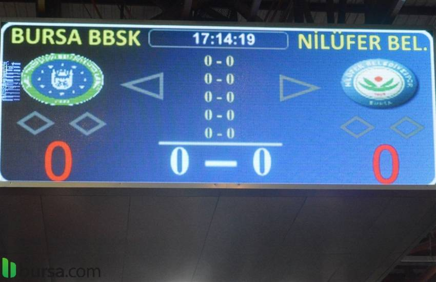 Bursa Büyük Şehir Belediye - Nilüfer Belediye Voleybol Maçı