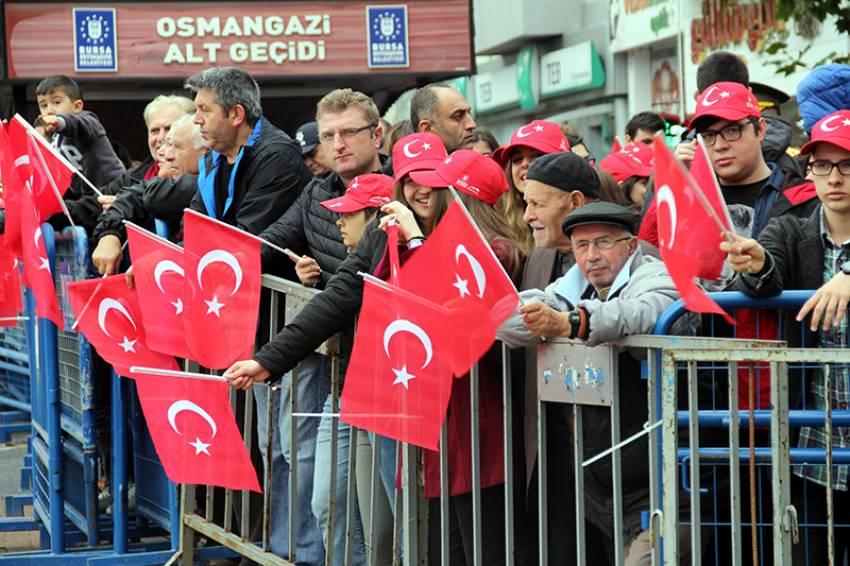 Bursa'da Cumhuriyet Coşkusu!