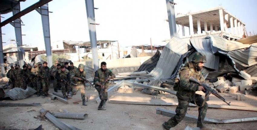 Suriye'de savaş kızıştı! Hizbullah Zabadani'ye saldırdı
