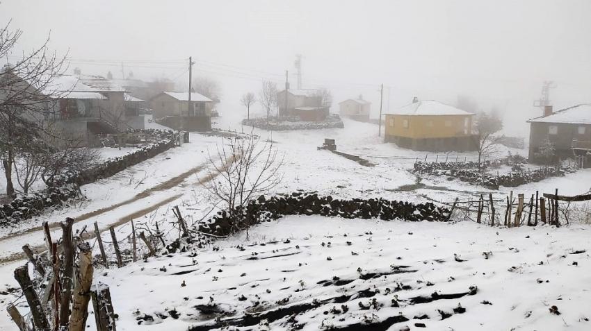 Doğu'da yağmur ve kar