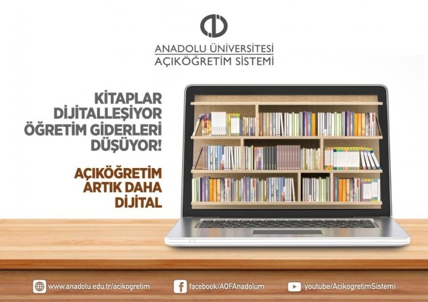 Açıköğretim Fakültesinde 'dijital kitap' devrimi