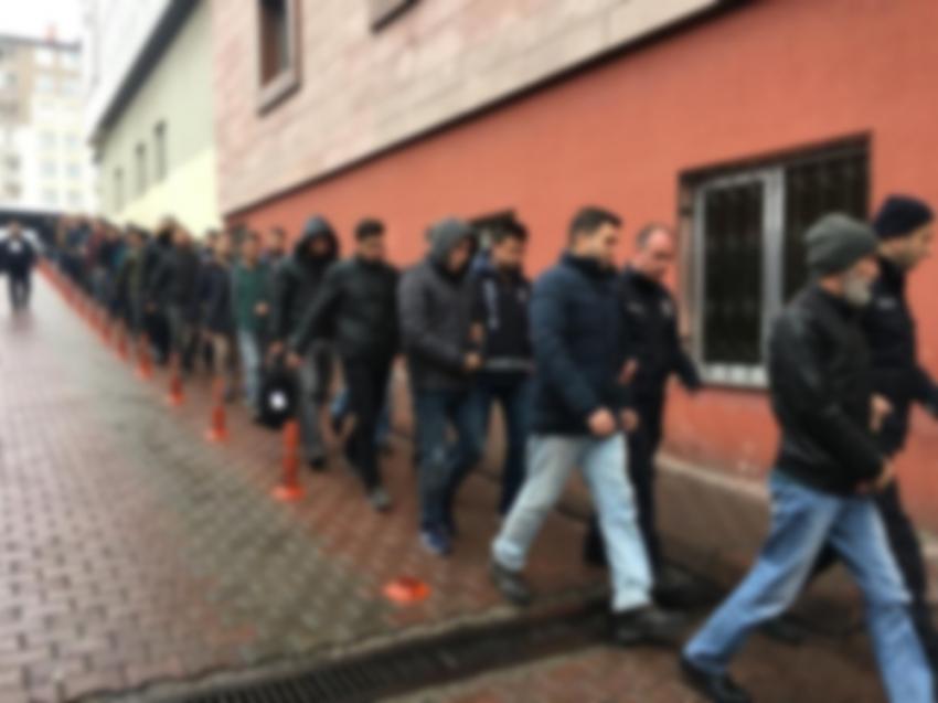Kayseri'de FETÖ operasyonu: 26 gözaltı