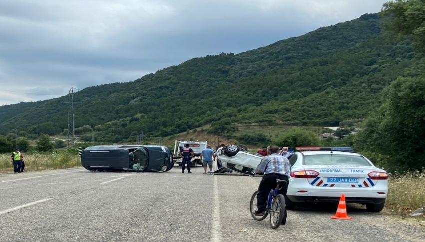 Yalova'da yaralamalı trafik kazası