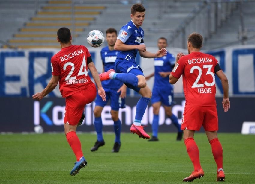 Karlsruher SC - Bochum maçında puanlar paylaşıldı