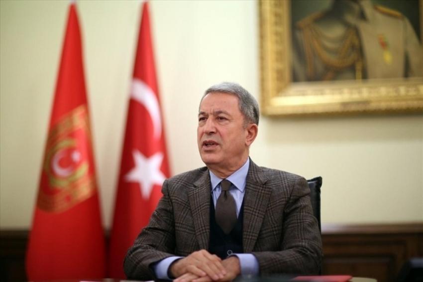 Bakan Akar, Konya'da Anadolu Ankası Tatbikatı'nın kapanış törenine katıldı