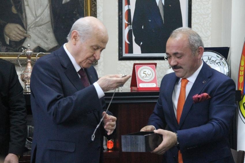 MHP lideri Bahçeli, Çankırı'da