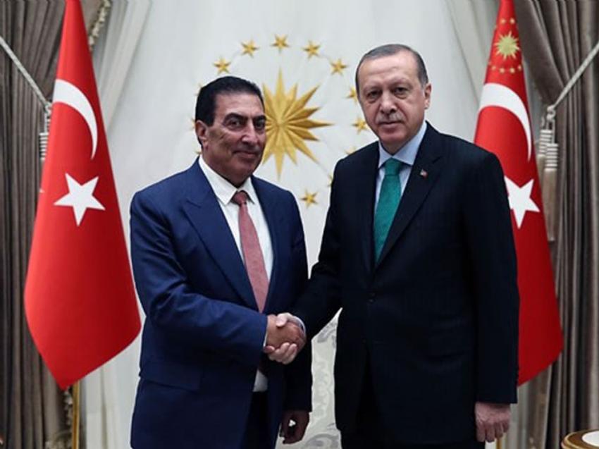Ürdün Temsilciler Meclisi Başkanı Tarawneh'i kabul etti