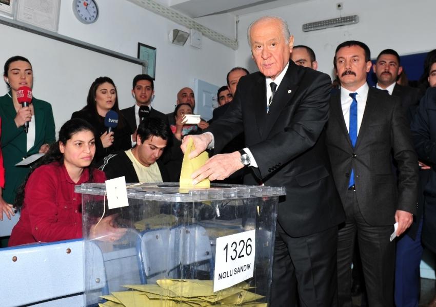 "Bahçeli: ""Cumhur İttifakı'na oy verdim"""