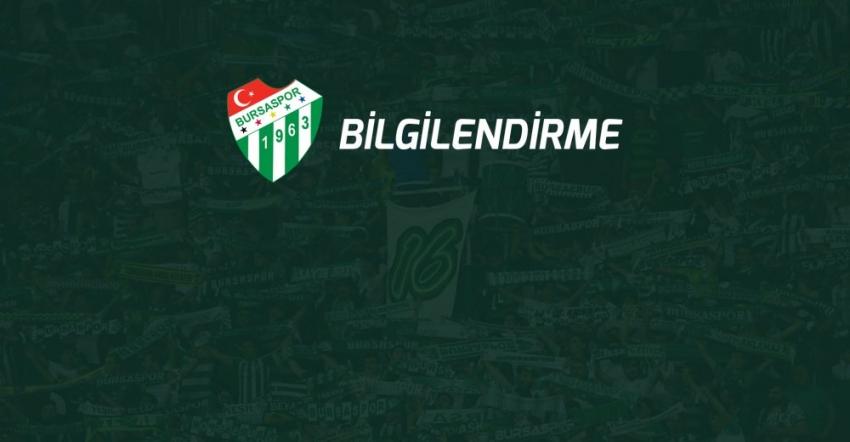 Bursaspor'da Kongre tarihi değişti