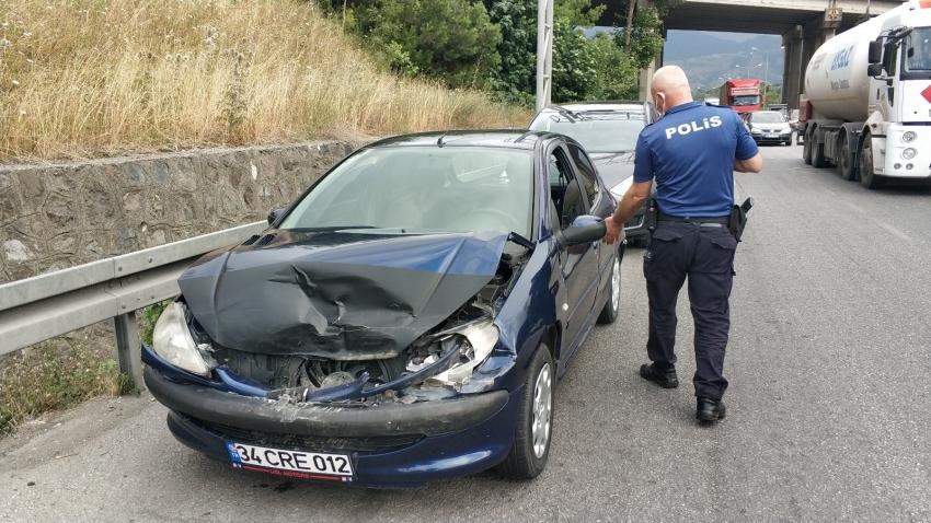 5 aracın karıştığı zincirleme kaza: 1 yaralı
