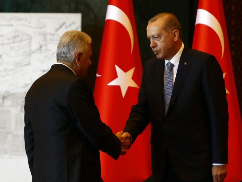 Erdoğan TBMM Başkanı Yıldırım'ı kabul etti