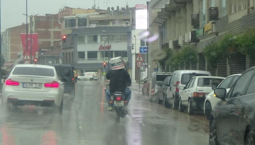 Bursa'da tebessüm ettiren görüntü