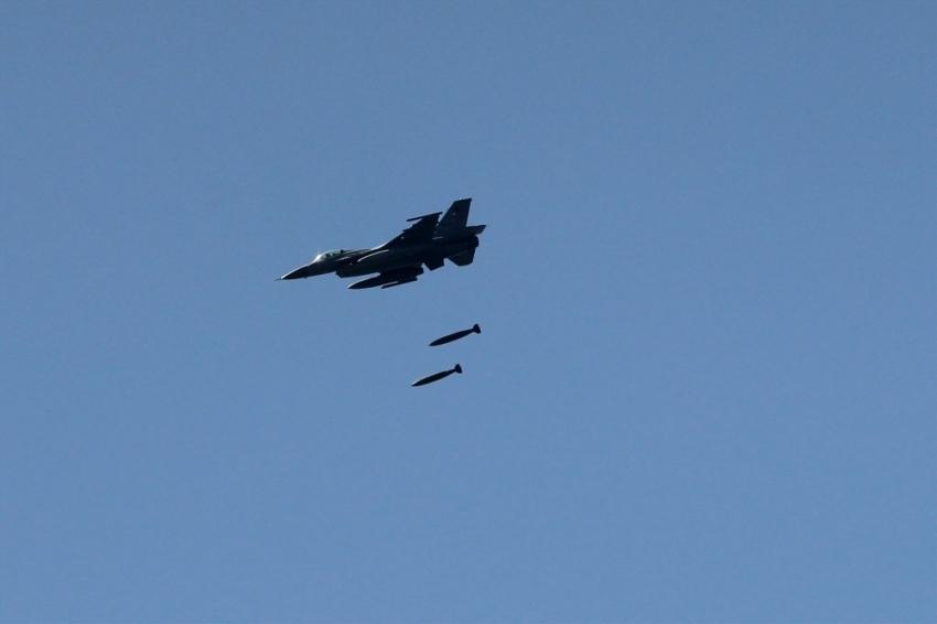 Suriye'de hava saldırısı: 10 ölü