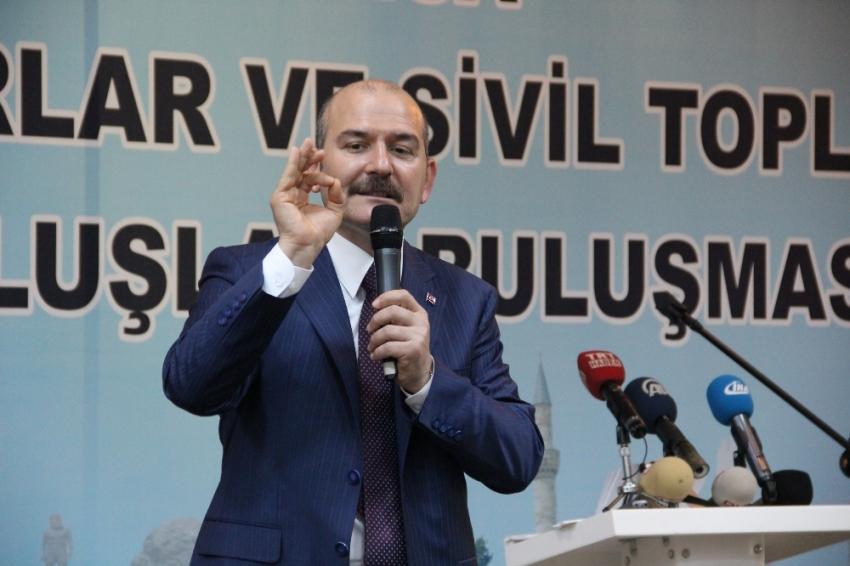 """Soylu: """"Avrupa, PKK ile anlaşmış"""""""