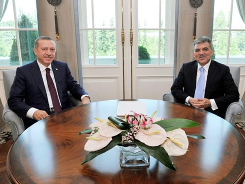 Erdoğan Gül'le görüştü