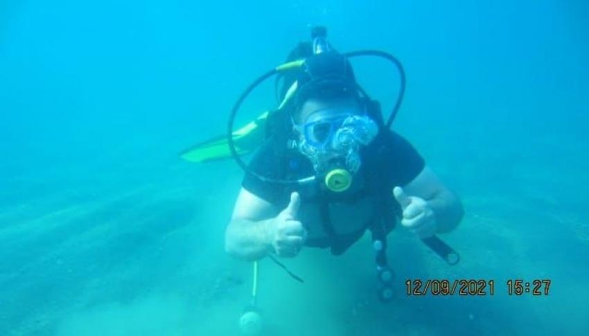 Su altı tutkunlarının yeni gözdesi Van Gölü