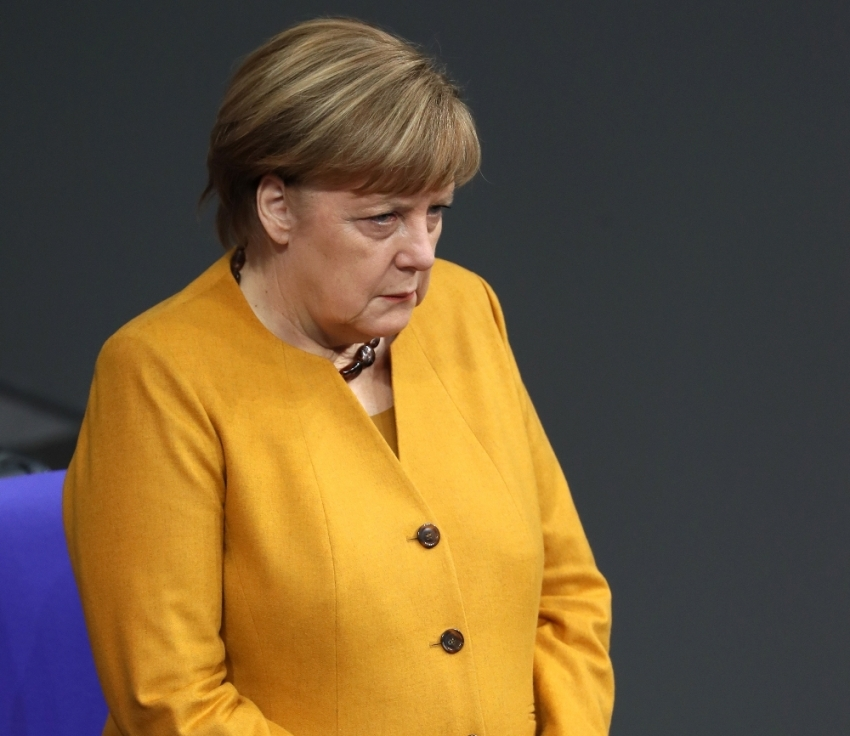 Barzani'nin partisinden Merkel'e cevap