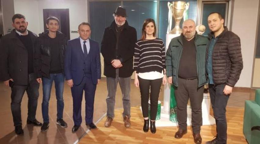 BURKÜP'den Bursaspor'a ziyaret!..