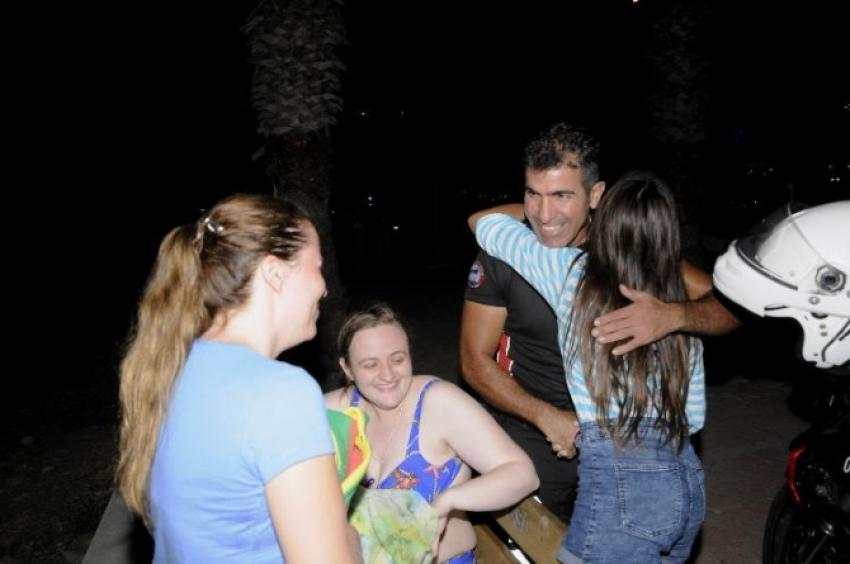 Rus kadın turist Antalya polisini alarma geçirdi