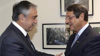 Kıbrıslı liderler bir kez daha bir araya geldi