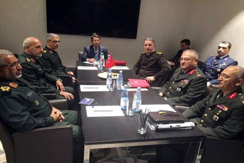 Türk, Rus ve İran Genelkurmay Başkanları Soçi'de buluştu
