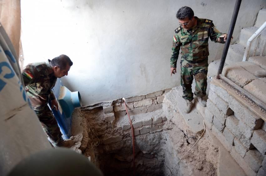 DEAŞ'ın Musul'daki tünelleri ortaya çıktı