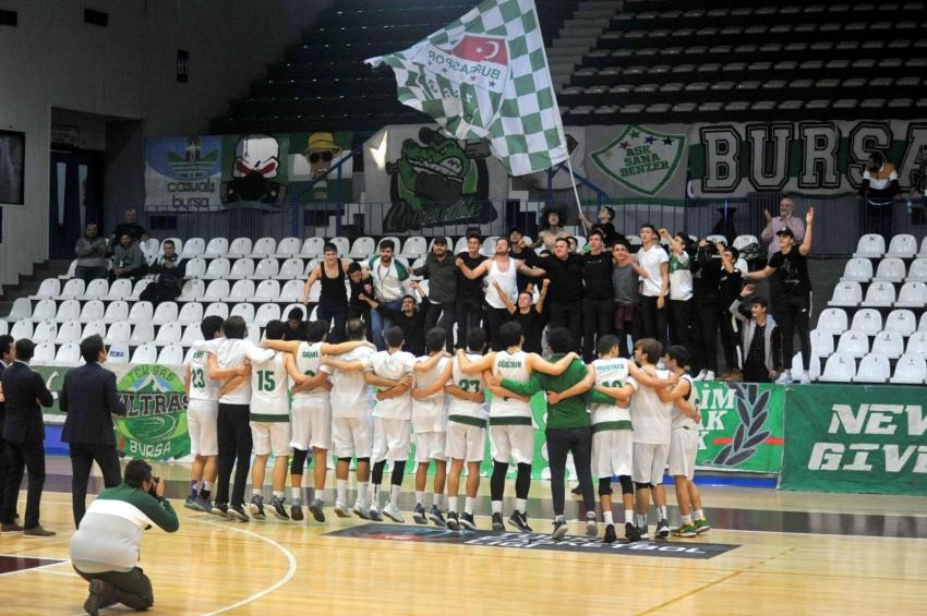 Bursaspor-FVM Işık Bakırköy Basket: 82-78
