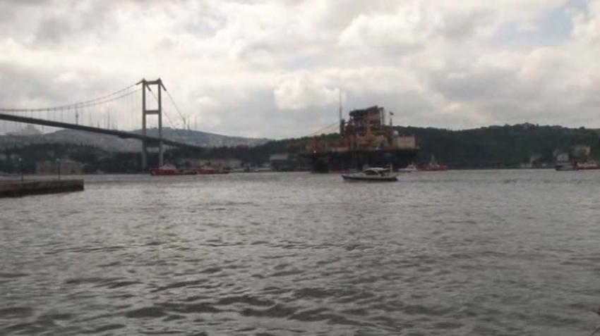 Dev petrol arama platformu Boğaz'dan geçiyor