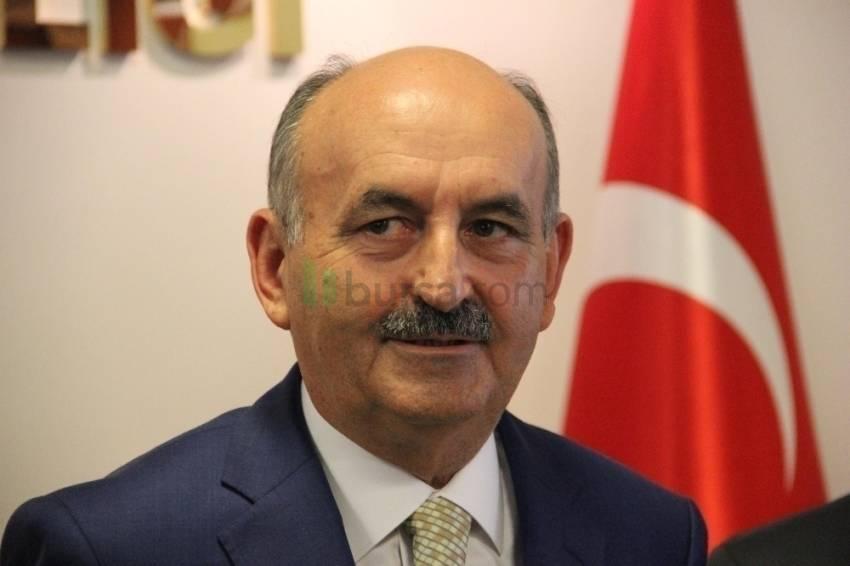 Bakan Müezzinoğlu göçmenlerin sorunlarını dinledi