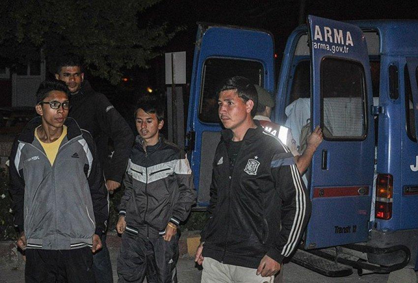 Marmara'da 99 kaçak yakalandı