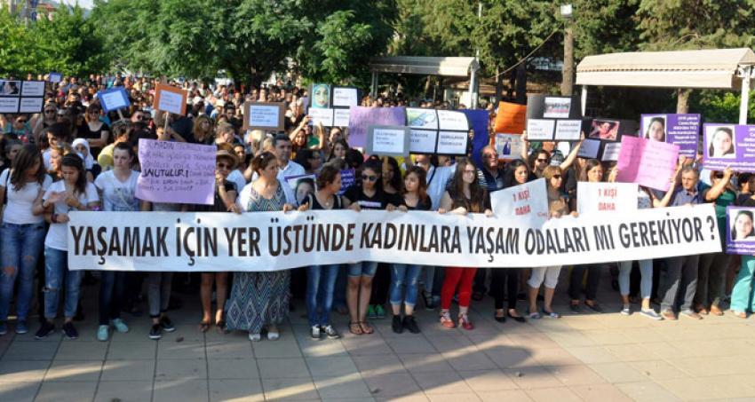 Cansu Kaya'nın ölümü protesto edildi