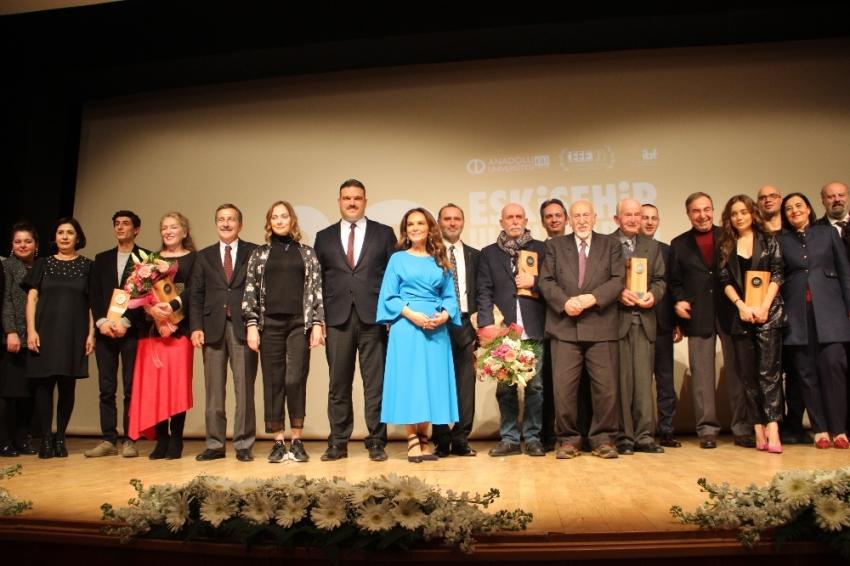 Türk sinemasının önemli isimleri Eskişehir'de festivalde buluştu