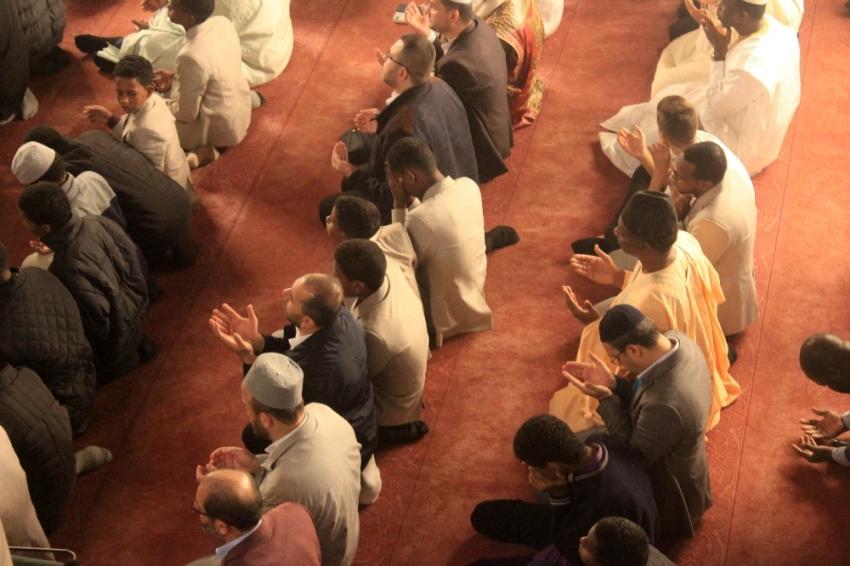 Afrikalı dini liderler Eyüpsultan Camisii'nde namaz kıldı