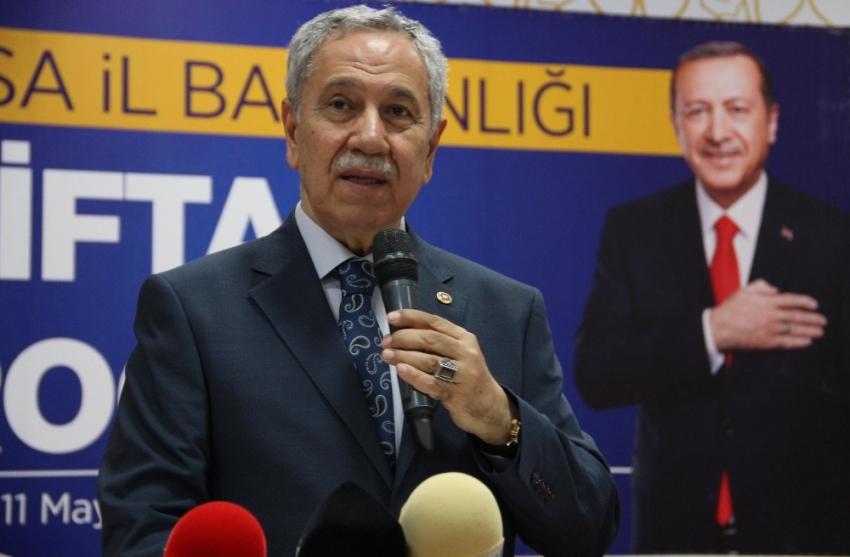 """Arınç'tan İmamoğlu'na """"terör örgütü PKK"""" sorusu"""