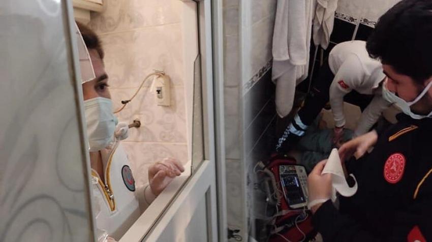 Duş almak için girdiği banyoda ölü bulundu!